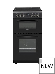 Swan SWAN SX15821B 50CM TWIN ELECTRIC COOKER BLACK