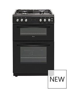 Swan SX15890B 60CM TWIN GAS COOKER BLACK