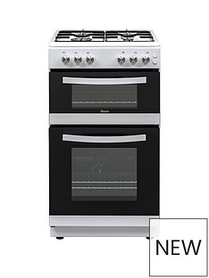 Swan SX15871W 50CM TWIN GAS COOKER WHITE