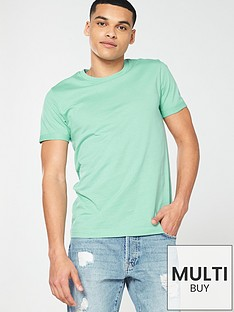 bbf32a5be V by Very Crew Neck T-Shirt - Mint