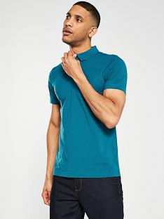 v-by-very-short-sleeved-jersey-polo-shirt-teal