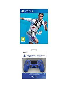 playstation-4-fifa-19-with-wave-blue-dualshocknbspwireless-controller