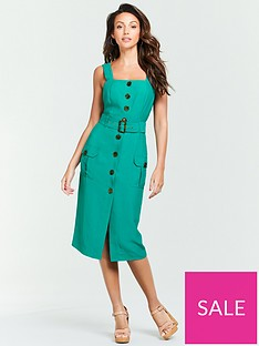 d41d193453c9 Green Dresses | Womens Green Dress Range | Very.co.uk