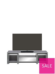 Kyoto Multi Functional TV Unit with Mirror Effect trims - fits up to 60 inch TV