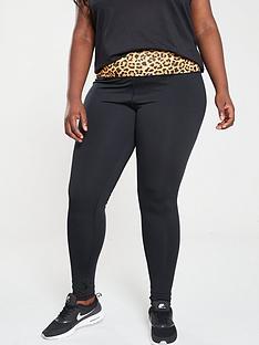 south-beach-south-beach-leopard-print-contrast-waist-leggings-plus