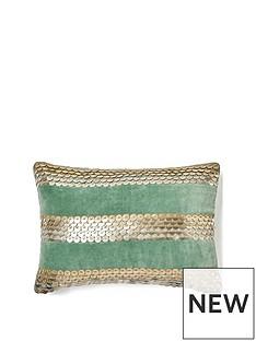 monsoon-velvet-disc-cushion