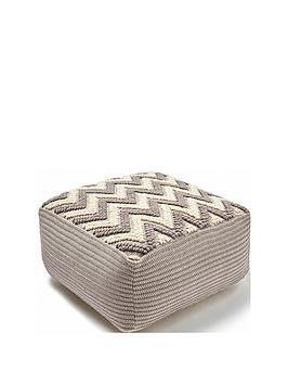 monsoon-zig-zag-floor-cushion