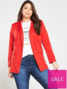 v-by-very-curve-jersey-longline-blazer-red