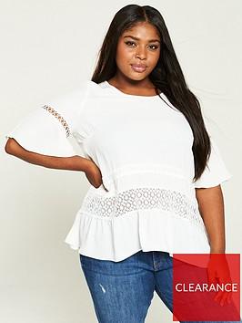 v-by-very-curve-lace-trim-blouse-ivory