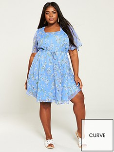 ee26895305 Plus Size Dresses | Shop Plus Size Party Dresses | Very.co.uk