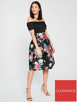 ax-paris-2-in-1-floral-midi-dress