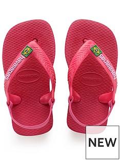 f321c76b7 Havaianas Baby Brasil Logo Flip Flop Sandals - Tulip