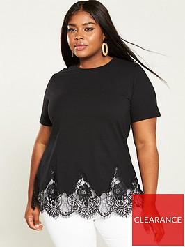 v-by-very-curve-lace-hem-longline-t-shirt-black