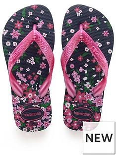 havaianas-girls-flores-flip-flop