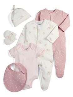 mamas-papas-baby-girls-6-piece-gift-set-pink