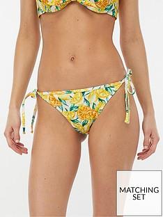accessorize-tie-side-bikini-briefs-lemon-print
