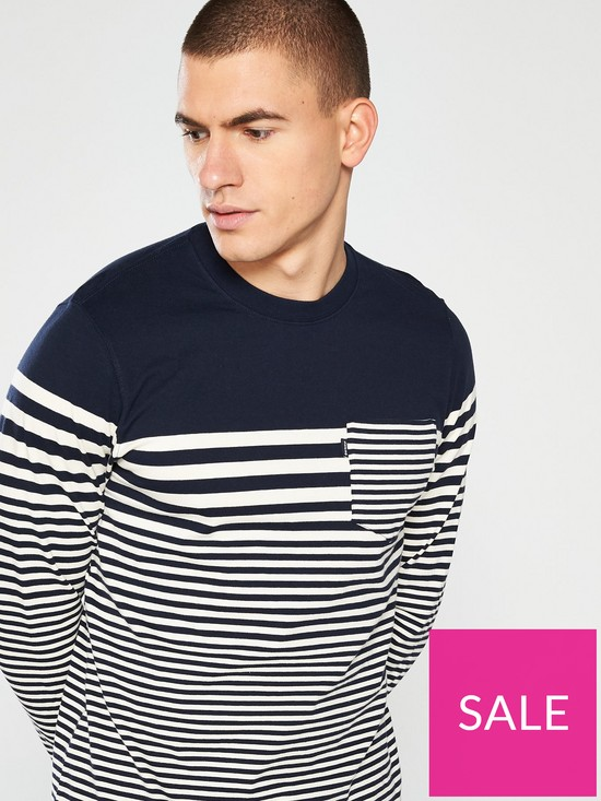 b3941c4c ... Barbour Triton Long Sleeve T-Shirt - Navy. View larger