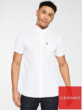 barbour-oxford-short-sleeved-tailored-shirt-white