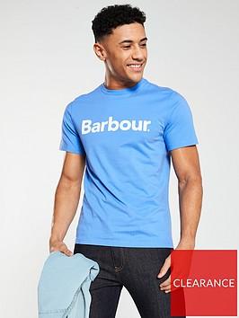 barbour-logo-t-shirt-blue