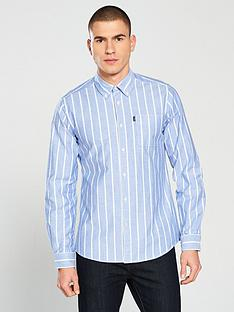 barbour-oxford-stripe-tailored-shirt-blue