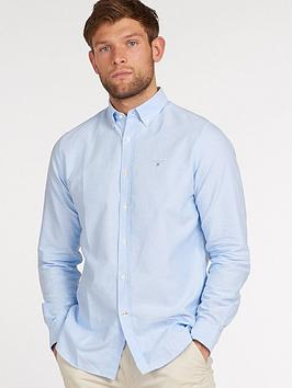barbour-oxford-tailored-shirt-blue
