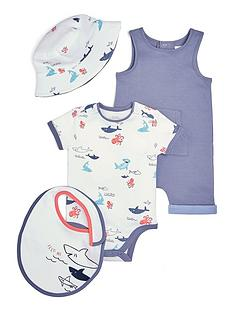 mamas-papas-baby-boys-4-piece-sea-creatures-set-blue
