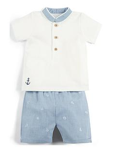 mamas-papas-baby-boys-2-piece-short-and-t-shirt-set-blue