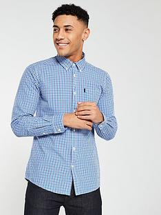 barbour-gingham-tailored-shirt--nbspblue