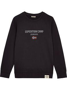 napapijri-boys-bonthe-crew-neck-expedition-sweatshirt-black