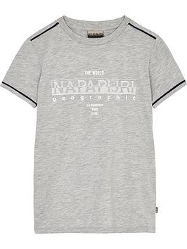 napapijri-boys-seby-short-sleeve-logo-t-shirt-grey