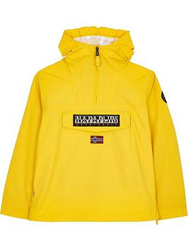 napapijri-boys-rainforest-popover-jacket-yellow