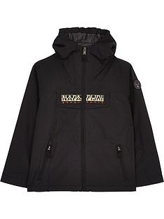 napapijri-boys-rainforest-jacket-black