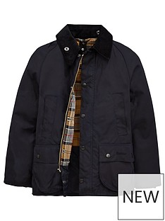barbour-boys-classic-bedale-waxed-jacket
