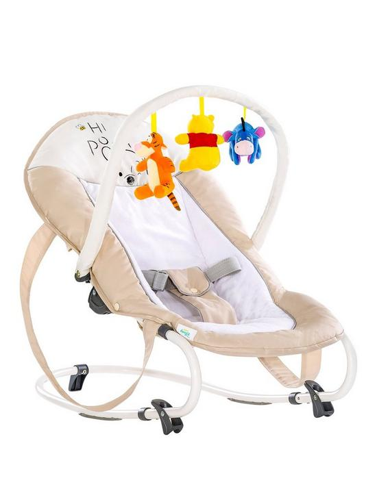 9a85a32359e3 Winnie The Pooh Hauck Disney Bungee Deluxe Rocker- Pooh Cuddles ...