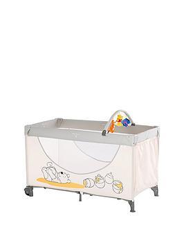 Winnie The Pooh Hauck Disney Dream & Play Travel Cot- Pooh Cuddles