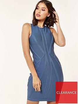 the-girl-code-bandage-contour-mini-dress-blue