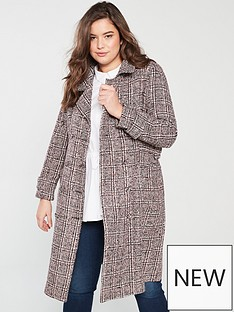 lost-ink-plus-lost-ink-plus-checked-formal-coat-with-buckles