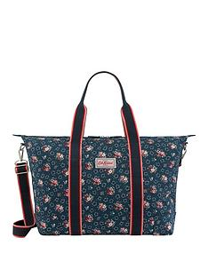 9fd5f3a7dffc Cath Kidston Foldaway Overnight Bag Lucky Bunch Ink