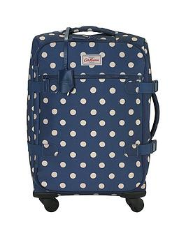 cath-kidston-four-wheel-cabin-bag-button-spot-dark-sage