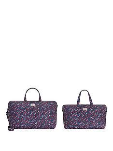 cath-kidston-foldaway-travel-bags-dulwich-ditsy-true-navy