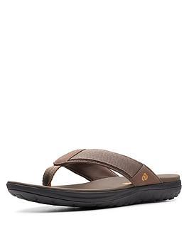 clarks-step-beat-dune-sandal-brown