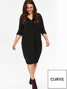 evans-cocoon-pocket-dress