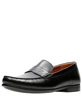 clarks-claude-lane-leather-shoe-black