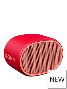 Sony SRS-XB01 Portable Bluetooth Speaker - Red