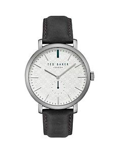 ted-baker-ted-baker-trent-white-and-silver-detail-dial-black-leather-strap-mens-watch