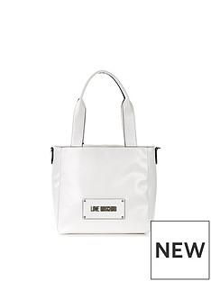 love-moschino-double-handle-logo-tote-bag-white