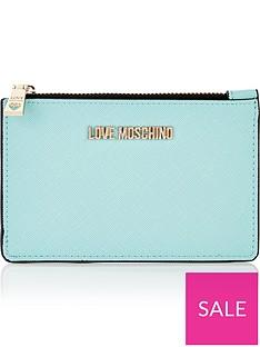 love-moschino-zip-top-logonbsppurse-blue