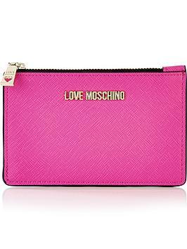 love-moschino-zip-top-logo-pursenbsp--pink