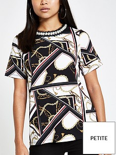 ri-petite-scarf-print-t-shirt-black