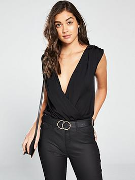 river-island-wrap-front-body-black